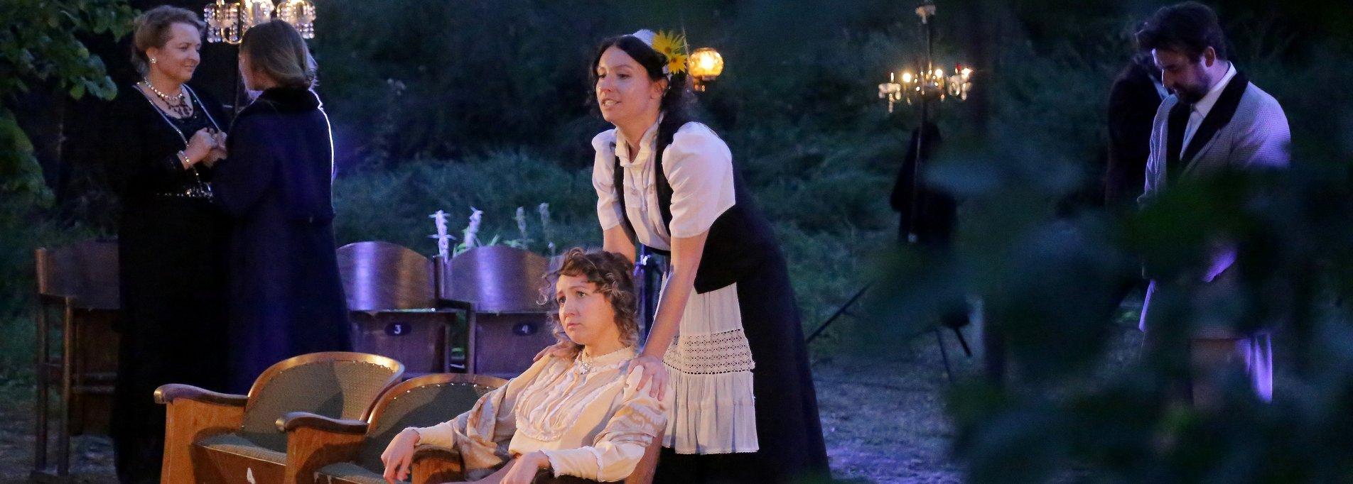 Wiśniowy sad - Teatr Latarnia / spektakl w plenerze